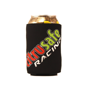 citrusafe racing can cooler with logo
