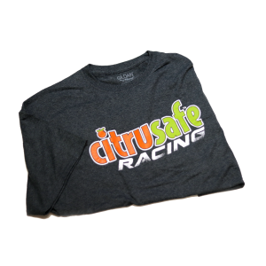 CitruSafe Racing Short-Sleeve T-Shirt in Gray