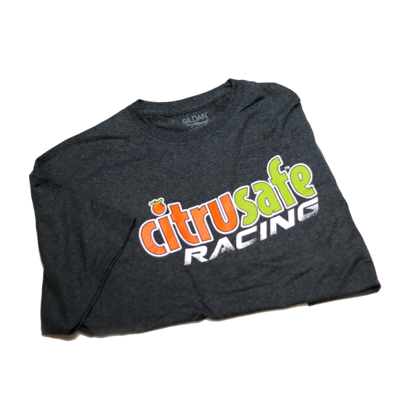 CitruSafe Racing Short-Sleeve T-Shirt in Gray
